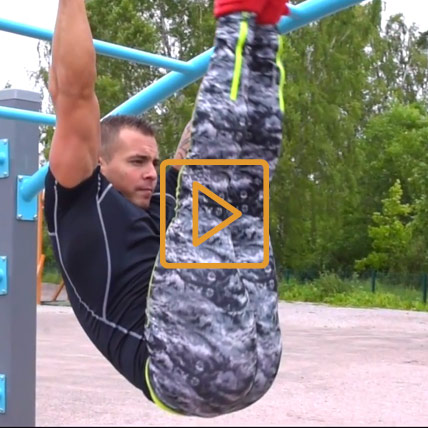 Lappset Street Workout Moves